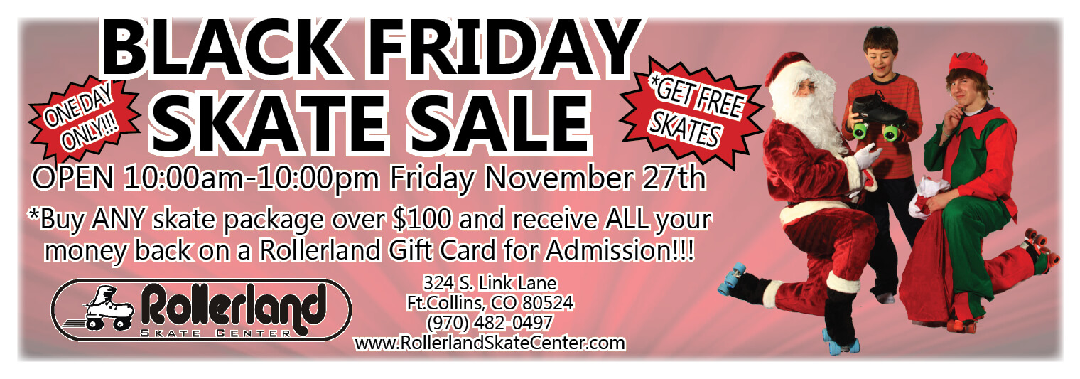 black friday skate sale