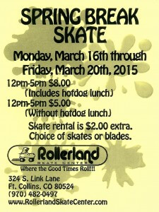 Spring Break Skate in Fort Collins