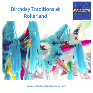 Birthday Traditions at Rollerland