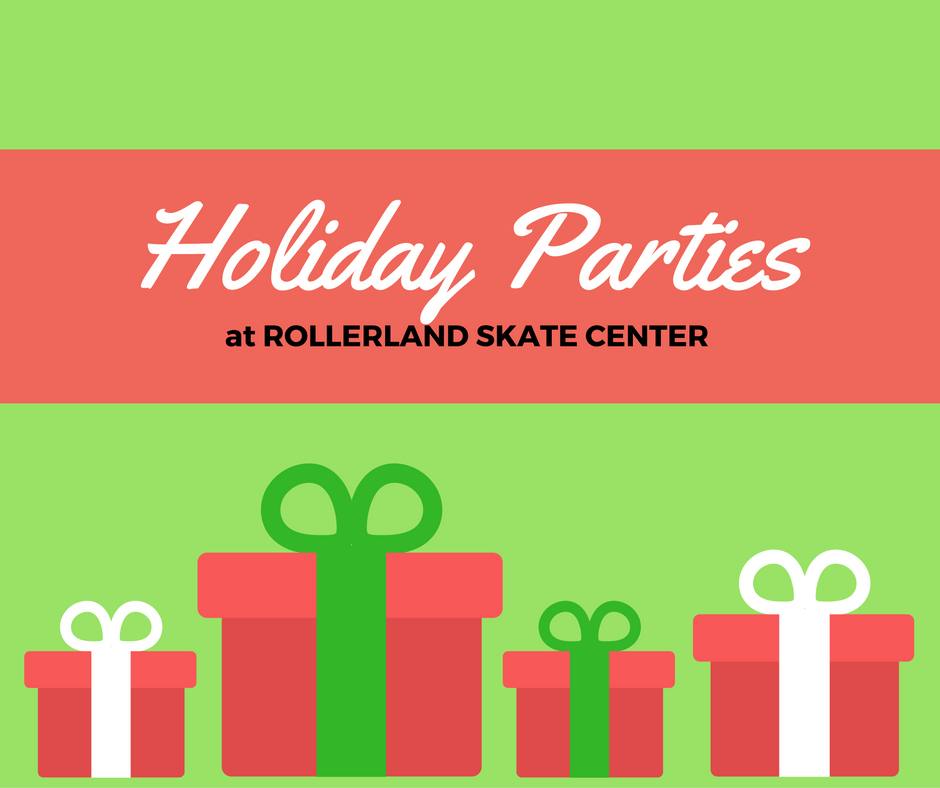 Holiday Parties at Rollerland