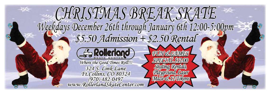 Christmas Break Skate 2016