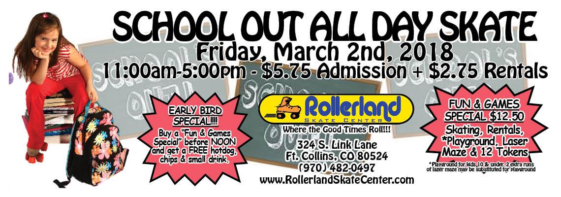 all day skate slider Mar 2nd 11am 2018