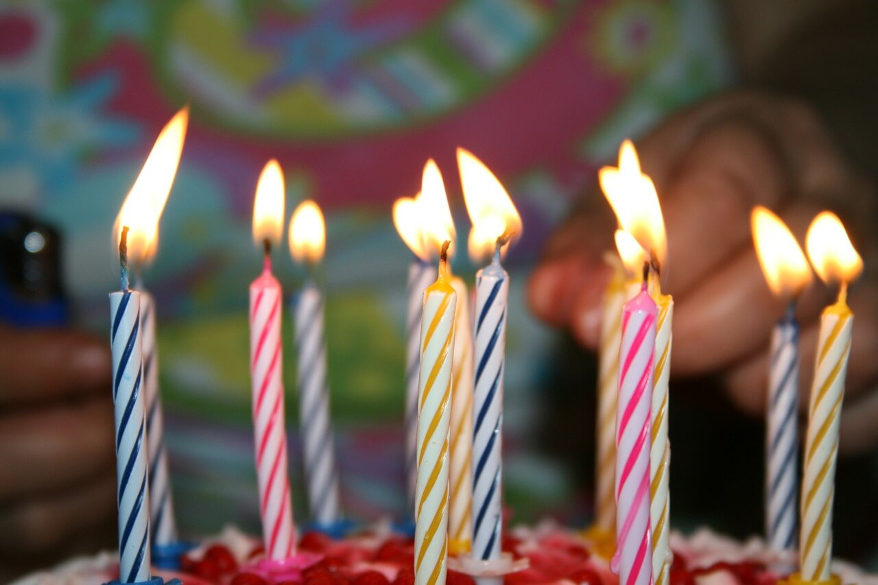 kids birthday party cake