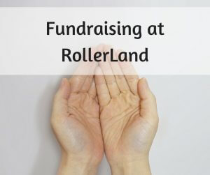 Back to school fundraising in Fort Collins, CO at RollerLand
